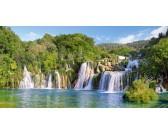 Puzzle Park narodowy Krka - Chorwacja - PUZZLE PANORAMICZNE