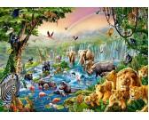 Puzzle Zwierzęta Afrykańskie
