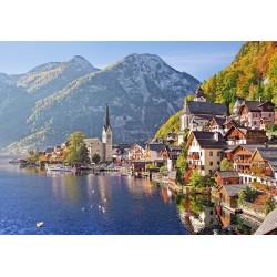 Puzzle Hallstatt, Austria