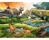 Puzzle Świat dinozaurów - PUZZLE DLA DZIECI