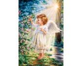 Puzzle Dotyk anioła