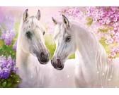 Puzzle Romantyczne konie