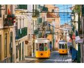 Puzzle Tramwaj w Lizbonie
