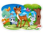 Puzzle Jelonek i leśni przyjaciele - PUZZLE DLA DZIECI