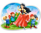 Puzzle Królewna Śnieżka - PUZZLE DLA DZIECI