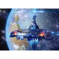 Puzzle Statek kosmiczny - PUZZLE DLA DZIECI