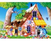 Puzzle Chatka z pierników - PUZZLE DLA DZIECI