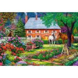 Puzzle Słodki ogród