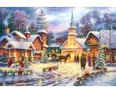 Puzzle Bożonarodzeniowa atmosfera