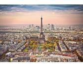 Puzzle Widok na Paryż