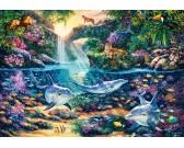 Puzzle Raj w dżungli