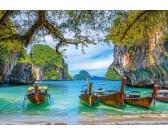 Puzzle Piękne wybrzeże w Tajlandii