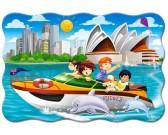 Puzzle Rejs statkiem w Sydney - PUZZLE DLA DZIECI