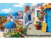 Puzzle Wiosna w Santorini