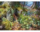 Puzzle Kwitnący las