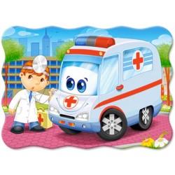 Puzzle Lekarz z pogotowia - PUZZLE DLA DZIECI