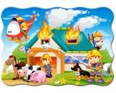 Puzzle Strażacy w akcji - PUZZLE DLA DZIECI