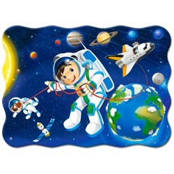 Puzzle Ruch w kosmosie - PUZZLE DLA DZIECI