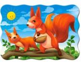Puzzle Wiewiórki - PUZZLE DLA DZIECI