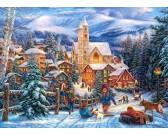 Puzzle Bożonarodzeniowa atmosfera - PUZZLE DLA DZIECI