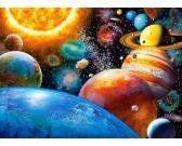 Puzzle Planety i ich księżyce - PUZZLE DLA DZIECI