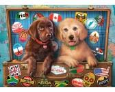 Puzzle Psy w podróży - PUZZLE DLA DZIECI