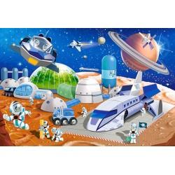 Puzzle Stacja kosmiczna - PUZZLE DLA DZIECI