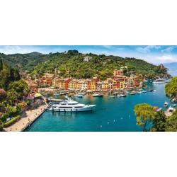 Puzzle Widok na Portofino - PUZZLE PANORAMICZNE