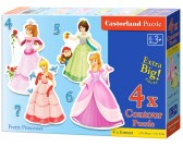 Puzzle Księżniczki - PUZZLE DLA DZIECI