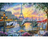 Puzzle Czas na herbatę, Paryż