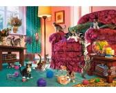 Puzzle Zabawne kocięta