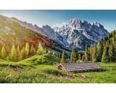 Puzzle Lato w Alpach