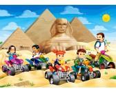Puzzle Badanie piramid - PUZZLE DLA DZIECI