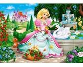 Puzzle Księżniczka - PUZZLE DLA DZIECI
