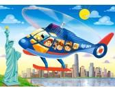 Puzzle Helikopter w Nowym Jorku - PUZZLE DLA DZIECI