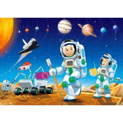 Puzzle Na innej planecie - PUZZLE DLA DZIECI