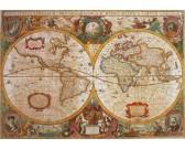 Puzzle Antyczna mapa świata