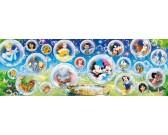 Puzzle Świat Disney'a - PUZZLE PANORAMICZNE