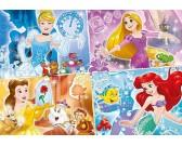 Puzzle Cztery księżniczki - PUZZLE DLA DZICI