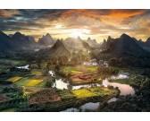 Puzzle Chiński krajobraz