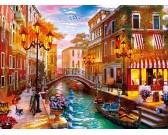 Puzzle Zachód słońca w Wenecji