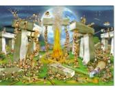 Puzzle Budowa Stonehenge