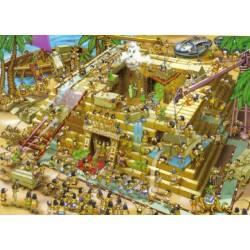 Puzzle Budowa piramid
