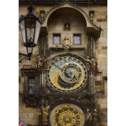 Puzzle Zegar Orloj, Praga