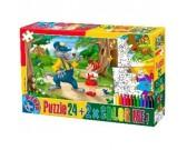 Puzzle Czerwony Kapturek - PUZZLE DLA DZIECI