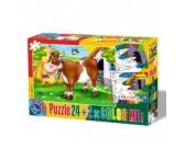 Puzzle Krowa - PUZZLE DLA DZIECI