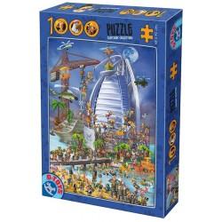 Puzzle Budowa Burj al Arab