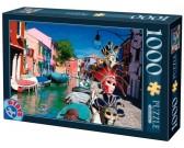 Puzzle Maski w Wenecji