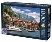 Puzzle Jezioro Como