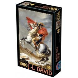 Puzzle Napoleon na koniu